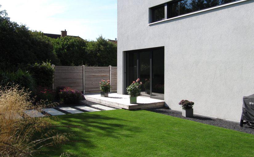 Gartenplanung Moderner Garten, architektonisch 035