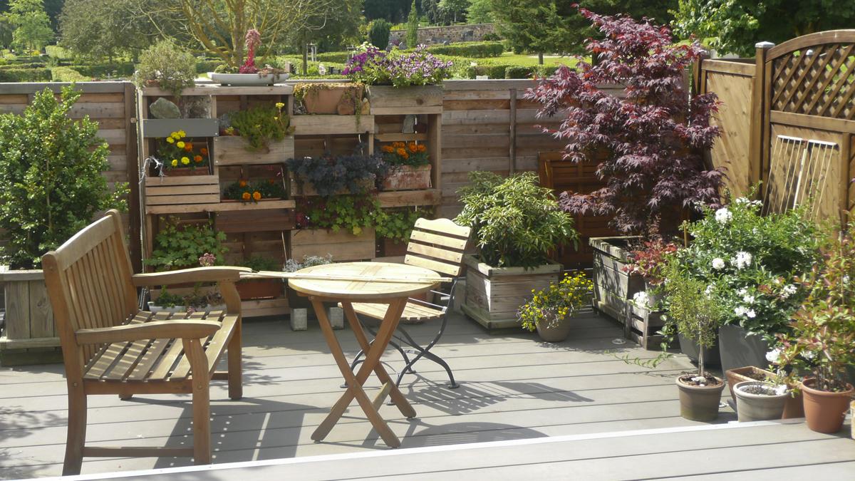 Gartenge3staltung kleiner Garten