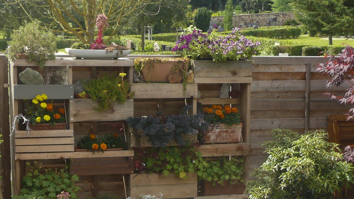 Umgestaltung eines kleinen Gartens