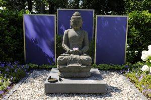Neuer Garten Feng Shui | Gartendekoration Budda Statue