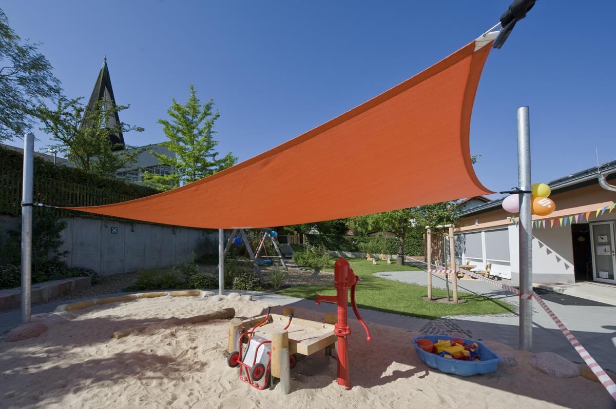 Freiraumplanung Gestaltung Kindergarten Spielplatz Gelnhausen Höchst