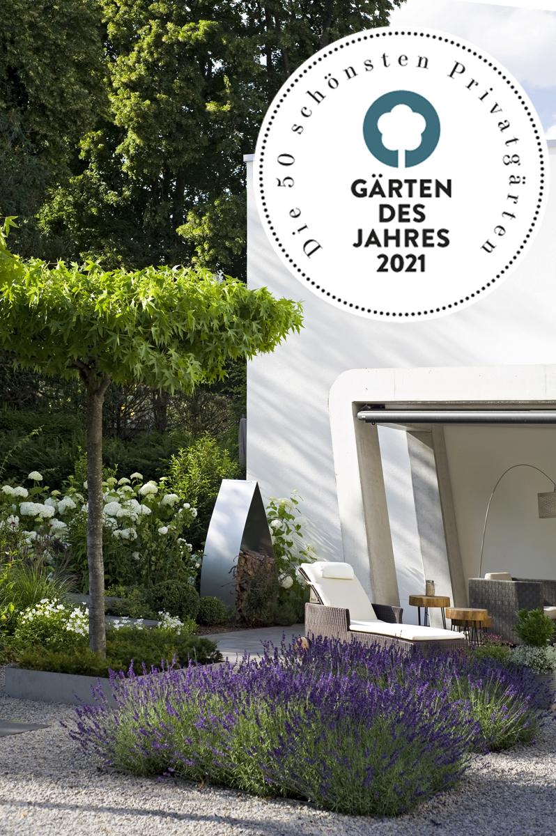 Auszeichnung | Gärten des Jahres | Callway | Logo und Garten